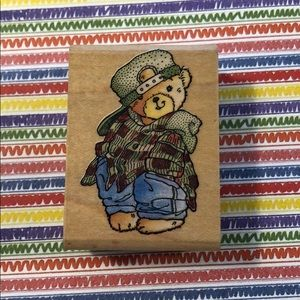 Other - Lot of Bear Rubber Stamps EUC
